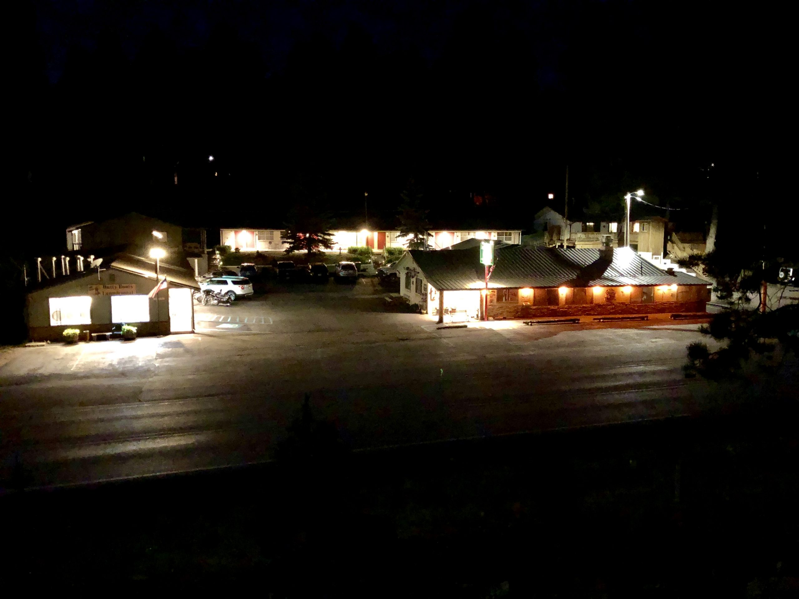 Motel OverView Night Time